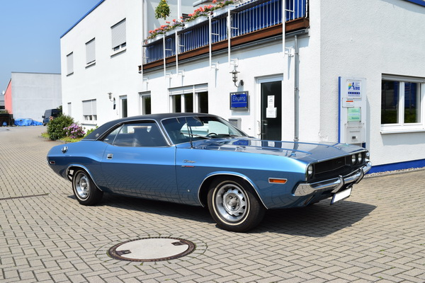 Dodge Challenger nach der Restauration